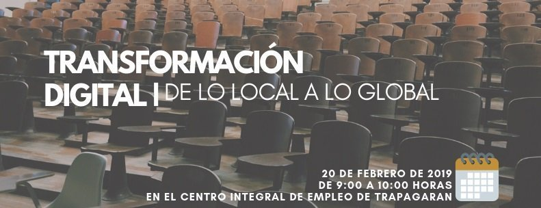 transformación digital de lo local a lo global