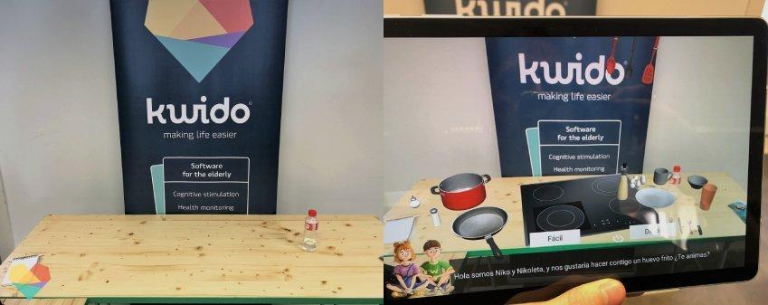 realidad aumentada de kwido