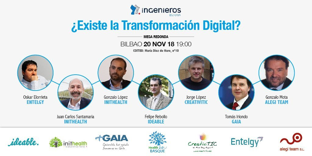 Mesa Redonda Transformación Digital