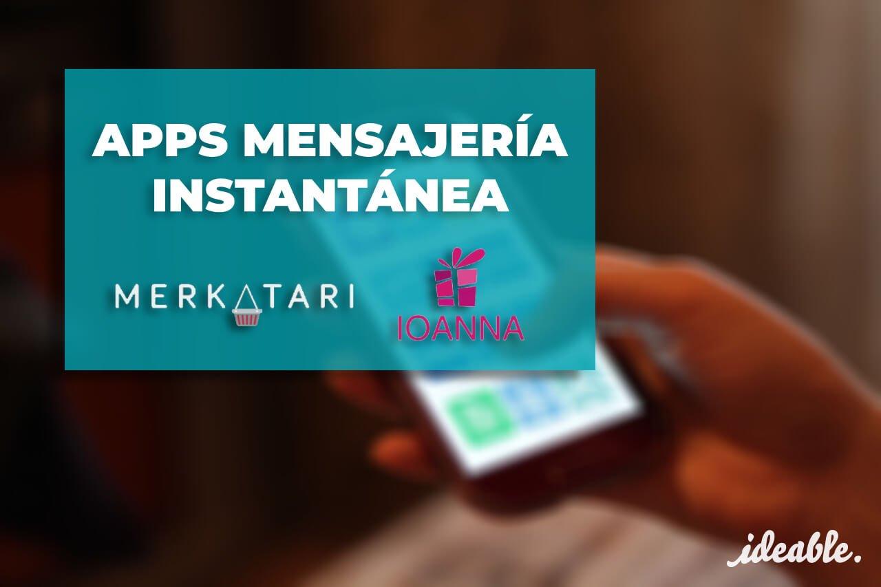 apps-mensajeria-instantanea-ideable